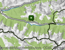 Karte: Obertilliach
