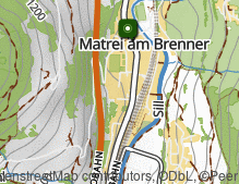 Karte: Matrei am Brenner