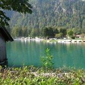 Am nördlichen Ufer des Achensees