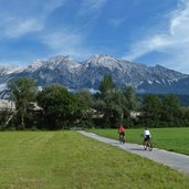 radweg inntal bei hall in tirol