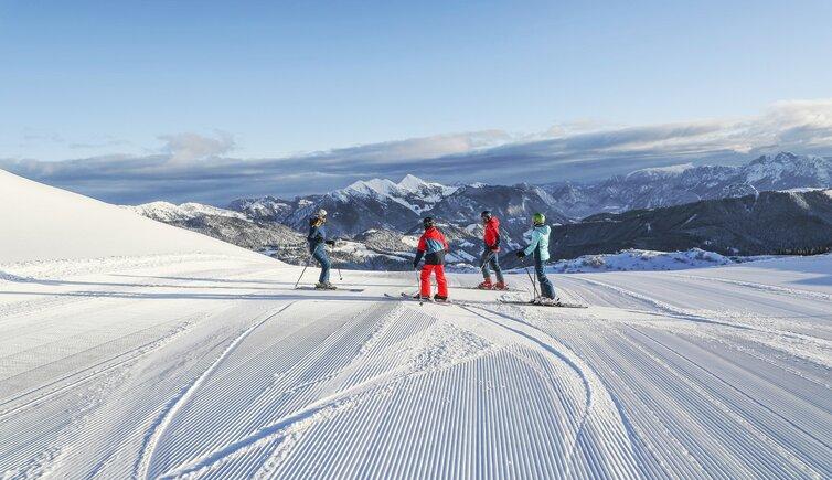 Skigebiet Steinplatte Pillersee Tal Tirol österreich